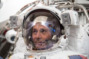 An astronaut from NASA will spend almost a year aboard the International Space Station